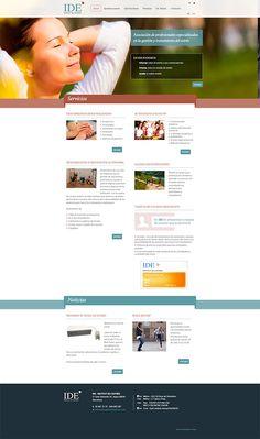 Diseño web y programación web para IDE - Institut de l'Estrès.  Desarrollo web para este centro de expertos en combatir el estrés y la ansiedad  http://www.latevaweb.com/diseno-web-y-programacion-web-para-ide-institut-de-lestre.html