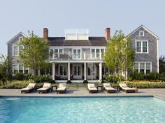 As you probably already know, I have an obsession with New England Real Estate.  This beauty is located in Nantucket and it's only a cool $10M!  Someday, we would like to own a summer home up North, until then, a girl can dream:) Source: Sotheby's Related