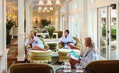 The Eternal Spa @ Bedford Springs...the Relaxing Room...