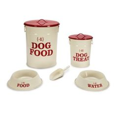 Dog Dining Collection - 5 Piece Set