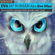 Ilustración. Hiver Owl de EVA Mª ROMÁN Aka EVE MAE.  Ilustración compartida desde Jaén (ESPAÑA).    Leer más: http://www.colectivobicicleta.com/2013/02/ilustracion-de-eve-mae.html#ixzz2LjQl2ZaE