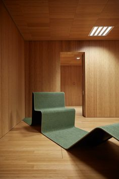 Wood Ceiling Panels, Tile Panels, Wood Ceilings, Ceiling Tiles, Ceiling Design, Douglas Wood, Huge Design, Hunter Douglas, Floor Chair