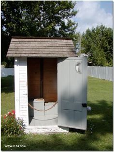 Harry S. Truman's Outhouse in Lamar, Missouri   Photo contributed by Sue and Don