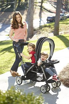 Graco Room for 2 Stroller - going out with 2 children is easy with this stroller.