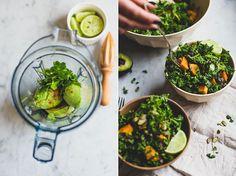 Mexicaanse boerenkoolsalade   De Groene Meisjes. Super creamy en gezond!
