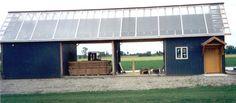 Solar Cycle Kilns at Timbergreen Farm, Spring Green, WI Solar Kiln, Imlay City, Solar Collector, Best Insulation, Kiln Dry, Gallon Of Water, Energy Conservation, Sunny Beach, Cornwall England