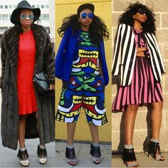 3 different looks 1 fabulous shoes!  @shesafashionlover  #ootd #fashion #style