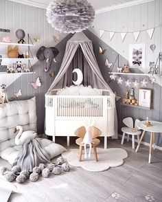 Vintage Kids Rooms - childrens decor and interior design ideas. Bedroom For Girls KidsChilds BedroomKids Bedroom PaintGirls Room - Baby Nursery Today Baby Bedroom, Baby Boy Rooms, Baby Boy Nurseries, Nursery Room, Girl Nursery, Girls Bedroom, Nursery Decor, Kids Rooms, Bedroom Decor