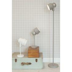 Leitmotiv Studio Vloerlamp - Wit