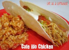 Cafe Rio Chicken!   One Good Thing by Jillee