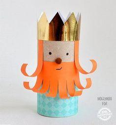 9 Manualidades de los Reyes Magos