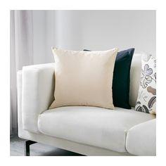 SANELA Cushion cover, light beige $8.00