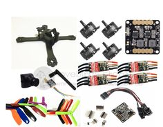"156.47$  Watch here - http://alis8b.worldwells.pw/go.php?t=32707887868 - ""DIY FPV mini drone QAV-X 5"""" pure carbon frame kit EMAX Cooling 2206II +Red Hawk BL20A ESC OPTO +NAZE32 / F3 + 700TVL camera"" 156.47$"