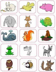 Jeu des rimes (nourrir un animal) – jeu à imprimer ICI Domaine : français Compétences : phonologie, rime Proposé par : Lau ra