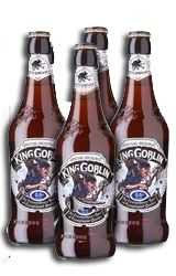Wychwood King Goblin is an extraordinary beer of exceptional quality that is only ever brewed under a full lunar moon, with Crystal malts and Sovereign hops for a rich, smooth sublimely satisfying taste of pure beer indulgence which develops further complexity as it matures.