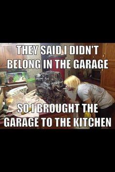 Girl mechanics