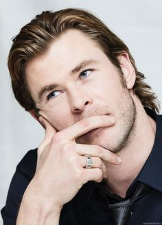 The Fairest Hemsworth. OMG his blue eyes~~