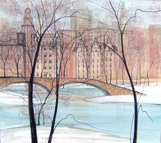 P. Buckley Moss' Central Park