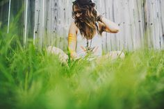 in the grass. image by ariel renae