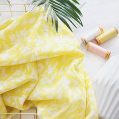 "Tissu ""Summer Swoon"" - new fabric by Atelier Brunette"