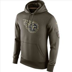 730d82fb1 Nike Tennessee Titans Army Green Salute To Service Hoodie
