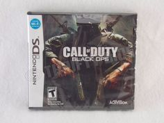 New Damaged Case: Nintendo DS Call of Duty Black Ops 2010 Activision FreeShip