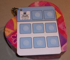 Travel Key Ring Pecs Autism Communication Board by autismcreations, $5.00
