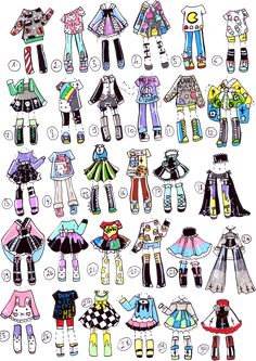 SOLD-HarajukuMix by Guppie-Adopts.deviantart.com on @DeviantArt