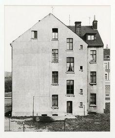 BERND AND HILLA BECHER  HAUS, GELSENKIRCHEN, RUHRGEBIET, D, 1972