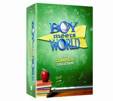 """""""Boy Meets World"""" The Complete Collection DVD box set (Lionsgate Home Entertainment) Will Friedle, William Daniels, Rider Strong, Ben Savage, Mark Paul Gosselaar, Amazon Dvd, Danielle Fishel, Daily Deals Sites, Saved By The Bell"""