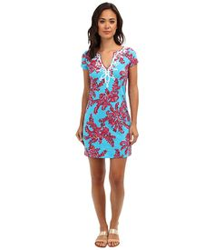Lilly Pulitzer Brewster T-Shirt Dress Searulean Blue Rhode Island Reef - Zappos.com Free Shipping BOTH Ways
