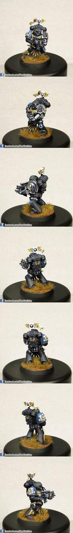 Warhammer 40k | Space Marines | Vael Donatus, Ultramarine Sternguard Veteran…