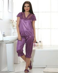 Ideal for everyday and honeymoon wear, you can grab this nightwear and look Hot & Stylish!