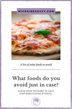 Here's a list of what foods you should avoid just in case they trigger a migraine attack? Headache Diet, Migraine Diet, Migraine Attack, Migraine Pain, Severe Headache, Chronic Migraines, Headache Relief, Foods For Migraines, Natural Remedies For Migraines