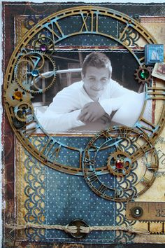 Such a Pretty Mess: I've Got Another Layout Pubbed In Magazine! Scrapbook Journal, Scrapbook Page Layouts, Baby Scrapbook, Scrapbook Albums, Scrapbook Cards, Scrapbooking Ideas, Heritage Scrapbooking, Book Layouts, Photo Layouts