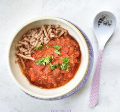 Spaghetti bolognese dla dzieci (rozszerzanie diety)