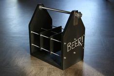 Chalkboard Beer Carrier | by Moosicorn #WoodworkingProjectsBeer
