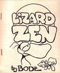 Lizard Zen by Vaughn #Bodé #underground #comics