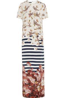 Mother of Pearl - + Jim Lambie printed silk maxi dress Jim Lambie, Top Designer Brands, Fashion Fabric, Dress Me Up, Silk Dress, Fashion Online, Pink Ladies, Printed Silk, Ready To Wear