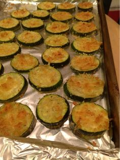 Keeping up with life: Zucchini Parmeasan Crisps by BlackJack Bake House