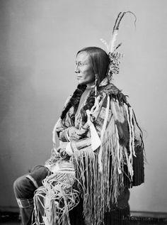 Photographs of American Indians : Buffalo Bulls Ghost - Yanktonai 1872