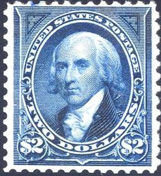 James Madison 1894 Issue-2$ - U.S. presidents on U.S. postage stamps - Wikipedia, the free encyclopedia