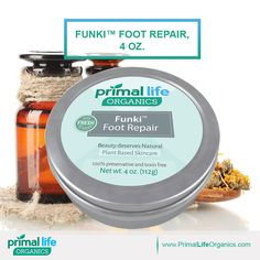 Are you tired of Funky Feet?  Start the recovery today with the best foot repair. #Nature #Natural #skincare  ❤️      https://www.primallifeorganics.com/collections/body/products/funki-primal-foot-repair