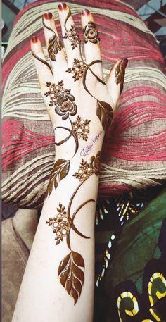 Kashee's Mehndi Designs, Modern Henna Designs, Floral Henna Designs, Beginner Henna Designs, Latest Bridal Mehndi Designs, Full Hand Mehndi Designs, Mehndi Designs For Girls, Mehndi Design Photos, Wedding Mehndi Designs