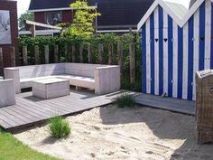 Achtertuin met strandsfeer | van der Meer ontwerper buitenruimte