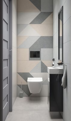 Toilette dekoration Italian swimsuit industry high prestige at international level Some history In a Simple Bathroom Designs, Bathroom Design Luxury, Bathroom Design Small, Bathroom Layout, Modern Bathroom, Master Bathroom, Toilet Tiles Design, Small Toilet Design, Wc Design