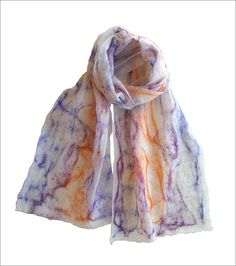 Handcrafted felt scarves @amazon UK by Mimi Pinto