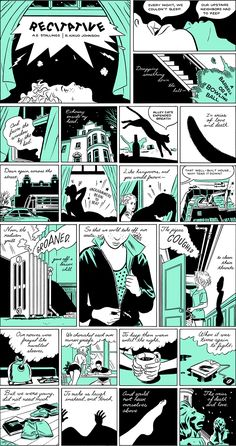 The Poem as Comic Strip #6 (R. Kikuo Johnson and A.E. Stallings) - wonderful merging of genres