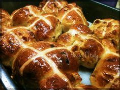 Easter Hot Cross Buns, A Pinch of Italy (2)
