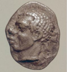 Ancient Art Week!  Greek Coin  Greece (c. 490 B.C.E.)  Silver, 10 mm.  The Image of the Black in Western Art Research Project and Photo Archive, W.E.B. Du Bois Institute for African and African American Research, Harvard University